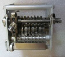 Strip Chart Recorder 9 Speed Gear Box - Manual Ratio Selection STEAM PUNK ?