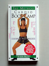 THE METHOD CARDIO BOOT CAMP WORKOUT VHS VIDEO TAPE JOSEPH PILATES