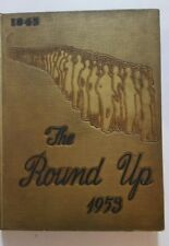 1953 Round Up Annual,Baylor University,Waco,Dallas,Houston,TX.,Bears