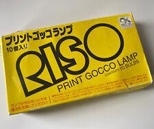 Riso Brand Print Gocco Bulbs 10 Bulbs New Never Used
