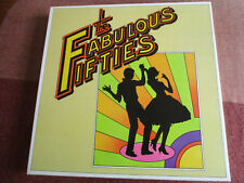 THE FABULOUS FIFTIES 1950-1959 10 ALBUM BOX SET EX/EX VINYL RECORDS