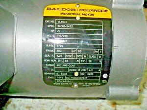 Baldor VL3504 hp .5, v 115/230,  hz,60,  ph1