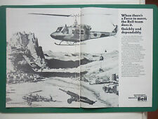 11/1976 PUB BELL HELICOPTER 206 214 212/UH-1N 205/UH-1H HOWITZER US ARMY AD