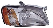 Right/Passenger Side Headlight Assembly Fits 2000-2002 Hyundai Accent
