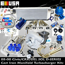 Presicion 5431 Turbo Kit D SS Cast Manifold for  1.6L SOHC VTEC I-4 125HP D16Z6