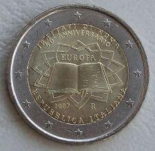 2 Euro Italien 2007 Römische Verträge unz