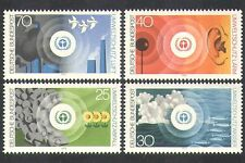 Germany 1973 Environment/Birds/Fish/Noise/Pollution/Conservation 4v set (n37075)