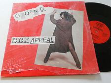 """GEORGIO Sex Appeal NM 12"""" Picture Perfect 1987 album vinyl Allentini"""