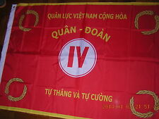 NEW Flags Ensign of Pre 1975 South Vietnam The Vietnamese ARVN 4th Corps 3X5ft