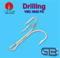 VMC 9650 PS Meeres-Drilling, Größen 8 bis 7/0, Raubfisch & Meeresdrillinge