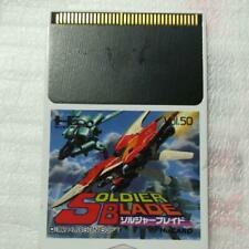 Soldier Blade PC-Engine Hu card operation confirmed Used