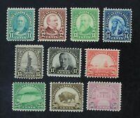 CKStamps: US Stamps Collection Scott#692-701 Mint NH OG
