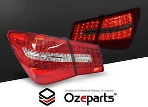 Set Pair FULL LED Rear Tail Lights (Red) For Holden Cruze JG JH 2009~2016 Sedan