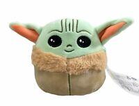 "Squishmallows  5"" Plush Stuffed Toy Baby Yoda The Child Mandalorian"