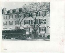 1948 Blair House in Washington D.C. Original Wirephoto