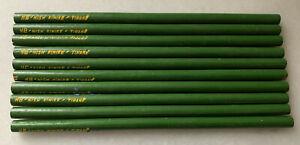 Vintage Pencils Made In Socialist Communist Albania Enver Hoxha NOS