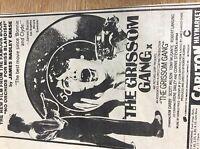 u1-5 ephemera 1971 original advert film the grissom gang