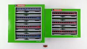 "ARNOLD N HN4220+4202 - SET ""FD KÖNIGSEE"" DB EP. V + ""ORIENTROT"" EP. IV - NUEVO"