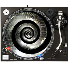 Portable Products Dj Turntable Slipmat 12 inch - Spin Mirror Ball