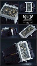 Matrix Montre Unisex de la Maison Cavadini Luxe & de Sport Dual Time