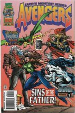 Avengers #401 - VF/NM- Onslaught / Magneto & Rogue