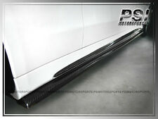 "Carbon Fiber Side Skirts ""Lip"" For 2015+ W205 C200 C250 C300 C400 w/ AMG Sports"