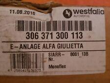 Alfa Romeo Guilietta (type: 940) 04/2010 Elektroanlage Anhängevorrichtung NEU