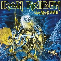 IRON MAIDEN - LIVE AFTER DEATH 2 VINYL LP NEW+