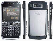 Nokia E72 (Unlocked) Cellular Phone - WIFI 5MP Camera - Black/White