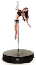 Xpole X-Stage 40mm Chrome Spinning Static Dance Exercise X Pole Podium Set New