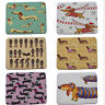 Lovely Dachshund Dog Printed Hallway Carpet Anti-slip Mat  Rugs Front Door Mats