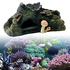 Trunk Bole Driftwood Cave Aquarium Decoration for Fish Tank Resin Ornament Hot