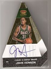 John Henson 12/13 Crown Royale Panini's Choice Award Gold RC Auto #502 SN#05/10