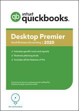 NEW! 4 user QuickBooks Desktop PREMIER 2020+ Request Free CD.