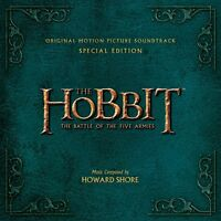 Howard Shore - The Hobbit: Battle Of The Five Armies (Deluxe) (NEW 2 x CD)