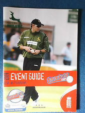 Notts Outlaws 2004 Twenty20 Cup Event Guide