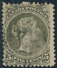 CANADA #26 FINE USED WITH SMALL FAULTS CV $200 BR6266