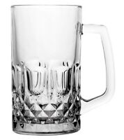 Glass Beer Mug / Beer Stein / Beer Glass 615ml | Set of 6