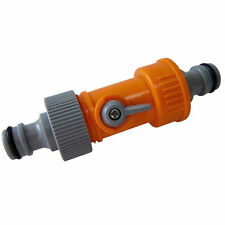 2 Way Hose Connector Adaptor Use With All Types Of Hoses Garden Watering Valve