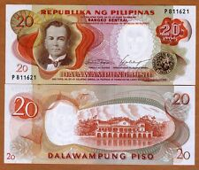 Philippines, 20 Piso ND (1969) P-145 (145a), Ch. UNC
