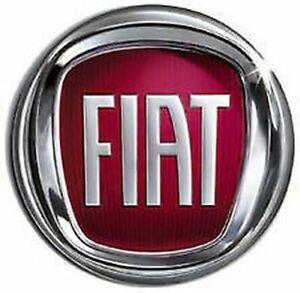 Orrnement Logo Blason Emablema Fiat Post Pour Ducato Partir 2006> Diamètre 120mm