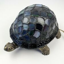 Turtle Stained Glass Lamp Tiffany Style