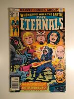 The Eternals #13 (1977 Marvel Comics) 1st Appearances One Above All & Gilgamesh