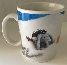 Walt Disney Mini Bean Bag Plush Coffee Mug Cup Classic Pooh Eeyore Tigger Piglet
