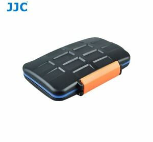 JJC MC-4 Anti-Shock Memory Card Case 4 x Compact Flash 8 Micro SD 8 xD-Picture
