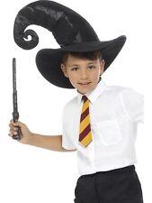 Harry Potter Mago Kit Cappello Cravatta & Bacchetta OTTIMO PER PRENOTARE SETTIMANA travestimenti divertenti