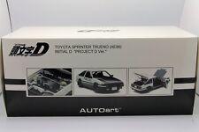 1/18 Autoart Toyota Sprinter Trueno AE86 Project D Version New Free Shipping