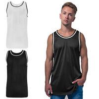 Herren Netz - Tank - Top, ärmelloses Mesh T-Shirt, 2 Farben  Trikot Basketball