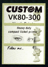 Post & Go: 1st class TEST LABELS - year code MA16 - STRIP OF 3 LABELS