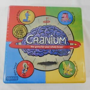 CRANIUM Board Game Family - The Game For Your Whole Brain - Original NEW Sealed